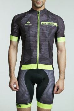 2016 Mens Best Looking Cycling Jersey Dawn Yellow