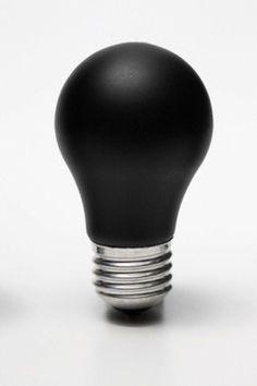 Black and White│Negro y Blanco - - Black And White Aesthetic, Black N White, Matte Black, Color Black, Black Light Bulbs, Black Lights, Black Lamps, White Light, Fade To Black