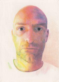 Regarde comme on est heureux - Derwent colored pencils, blending stick - Paper: Winsor & Newton Cotman water colour paper 90 lbs / 190 gsm cold pressed - grain fin - Dimensions: 35.5 x 25.4 cm (14 x 10 in) - Time: approx 30 hrs