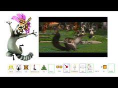 """CANCIONES - """"Yo quiero marcha"""".  Famosa canción de la película """"Madagascar"""", adaptada con pictogramas de ARASAAC."""
