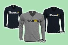 #Groomsmen shirts (V-necks)