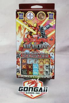 Dice Masters: Marvel Iron Man and War Machine Starter Set