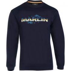 Men's Marlin Skinz L/S UV Fishing T-Shirt