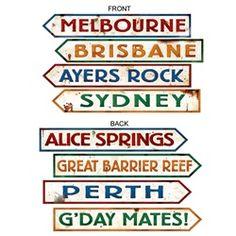 ACTIVITE - Panneaux australiens pour carnet de voyage, lapbook...