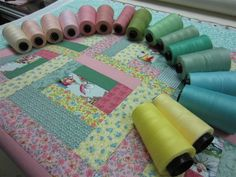 How to choose the color thread for quilting
