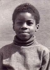 Taken in 1978 of 6 year old Norya Quinn. Norya  was a victim of the Jonestown massacre on Nov. 18, 1978- which he was forced to drink poisoned kool-aid.