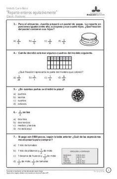Math 5, Math Class, Teaching Math, Math Exercises, Fractions Worksheets, Home Schooling, Math Activities, Mathematics, Homeschool