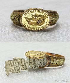"""CHEVALIER RING- Dating from c.1824, this ring is truly a piece of history which we are honored to have handled with. The ring is assumed to be made as presentation to Louis Antoine of France (Duke of Angoulême 1775–1844), the last  Dauphin of France, in celebration of the French victory in 1824 over Spanish liberalist government. In 1823, Louis Antoine commanded the French corps known as """"Hundred Thousand Sons of Saint Louis"""" sent to Spain in order to restore absolute powers of King…"""