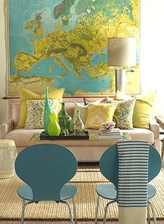 accessorize with large maps!