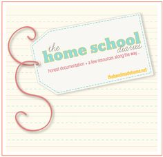 the home schooling diaries - part deux | the handmade home