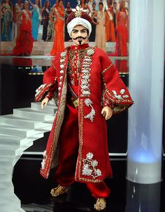 Turkey 'Ottoman Empire' ken doll .. ninimomo.com qw