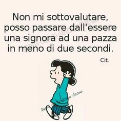 In 2 secondi Lucy Van Pelt, Funny Pins, Learn English, Motto, Favorite Quotes, Peanuts, Lol, Relationship, Thoughts