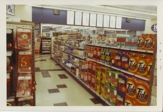 """Back when corner drug stores looked like this. And they were all the proverbial """"Mom & Pop"""" drug stores"""