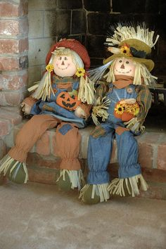 Scarecrows Photograph by Art Tilley