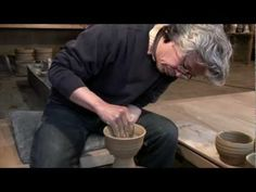 "Ken Matsuzaki ""Throwing Chawans"" (Teabowls) - extremely rare footage - YouTube"