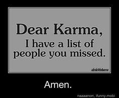 Amen is right!