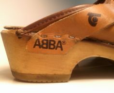 ABBA CLOGS by Trenton Authentic Vintage