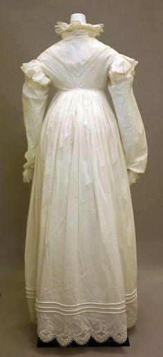 Morning dress ca. 1819 - Metropolitan Museum of Art