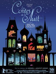 Les Contes de la nuit est un film de Michel Ocelot avec Julien Beramis, Marine Griset. Synopsis : Tous les soirs, une fille, un garçon et un vieux technicien se retrouvent dans un petit cinéma qui semble abandonné, mais qui est plein de merveilles.