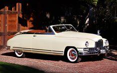 1949 Packard Custom 8 Victoria Convertible True Car, The Future Movie, Beige Top, Car Manufacturers, Cover Design, Vintage Cars, Convertible, Transportation, Classic Cars
