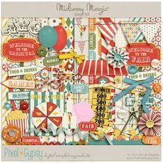 carnival digital scrapbooking kit - Google Search