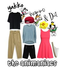 The Animaniacs by beetlescarab on Polyvore