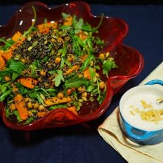 Sweet Potato, Quinoa And Chickpea Salad [Champagne and Chips]
