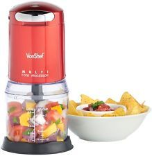 Check This Out! VonShef Red Mini Chopper #OnSale #Discount #Shopping #AddMe #FollowMe #BestPins