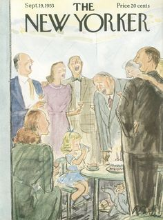 The New Yorker - Saturday, September 19, 1953 - Issue # 1492 - Vol. 29 - N° 31 - Cover by : Perry Barlow