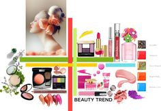 """""""BEAUTY TREND"""" by levong230 ❤ liked on Polyvore"""