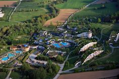 Thermal Spa Village designed by Friedensreich Hundertwasser - Located in the heart of Styria's Thermal Region. Rogner Bad Blumau is a spa hotel.