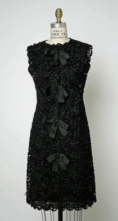 Evening dress 1963  by Spanish Designer Cristobel  Balenciaga....