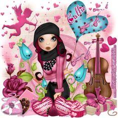 "MI RINCÓN GÓTICO: CT FOR CHERRY BLOSSOM DESIGNS, ""Hearts On Fire Valentine"""