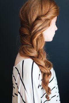 simple spring braid