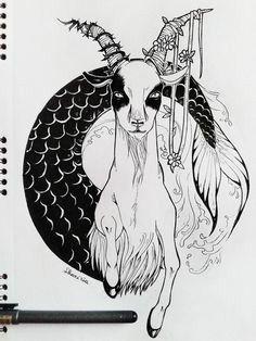 Zodiac Tattoo Inspirations :: Capricorn by ShariKia Capricorn Tattoo, Zodiac Signs Capricorn, Zodiac Art, Zodiac Tattoos, Capricorn Traits, Horoscope Tattoos, Tattoo Drawings, Body Art Tattoos, Wing Tattoos