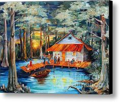 Cajun Cabin - Diane Milsap