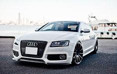 Audi A5 Pearl White