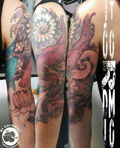 Tattoo japo en proceso