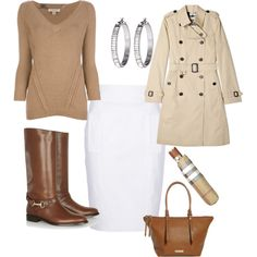 """""""Burberry Ourfit"""" by melanie-rivers on Polyvore"""