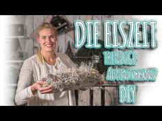DIY Adventskranz - Die Elfenkrone - YouTube