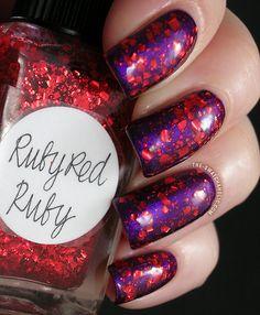 Layering A England Avalon Lynnderella Ruby Red Ruby