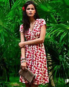 Garden Party Knit Dress -...