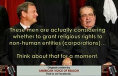 I am sure they will since they have already ruled that corporations are people for the purpose of political giving.