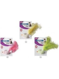 ETHICAL PRODUCTS 773138 Flicker Fun Feather Bird Assorted for Cats ** Learn more by visiting the image link.