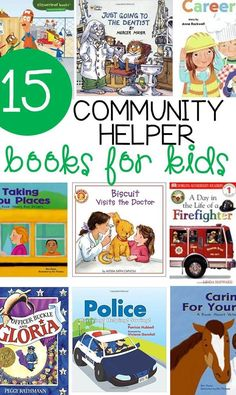 Community Helpers Books for Kids – The Letters of Literacy Learning about community helpers is fun! Engage kids with these 15 awesome community helpers books. The are perfect read alouds for school or home! Community Helpers Activities, Community Helpers Kindergarten, School Community, Kindergarten Literacy, Community Helpers For Kids, Preschool Books, Preschool Classroom, Preschool Activities, Space Activities