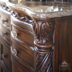 Ashley Furniture Homestore Old World Bedroom Detail My Master Bedroom Dresser Purchased At A Great