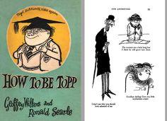 ECC Cartoonbooks Club: Ronald Searle the Great Part 2