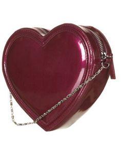 HEART CROSSBODY BAG, $45, TOPSHOP.COM