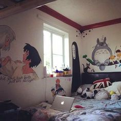 I want to paint these on my walls!!