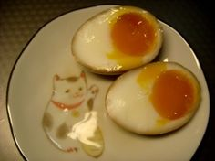 Hanjuku Eggs - Recipe - for on top of ramen noodle soup.